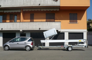 Car and trailer